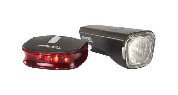 Red Cycling Products Eco LED USB Light Set Cykellys sæt sort